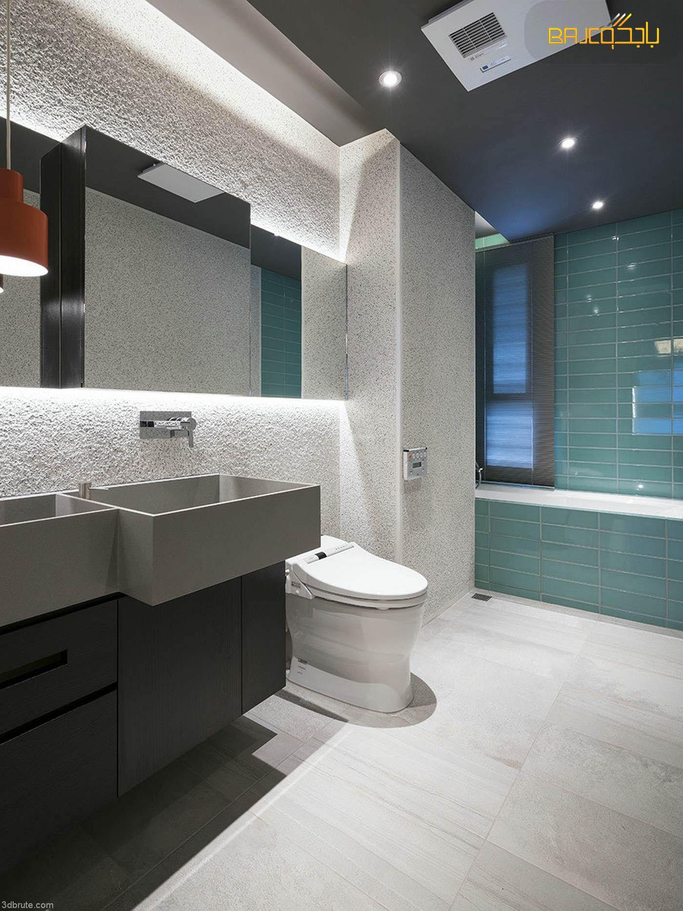 مغسلة رمادي Bathroom Mirror Bathroom Lighting Lighted Bathroom Mirror