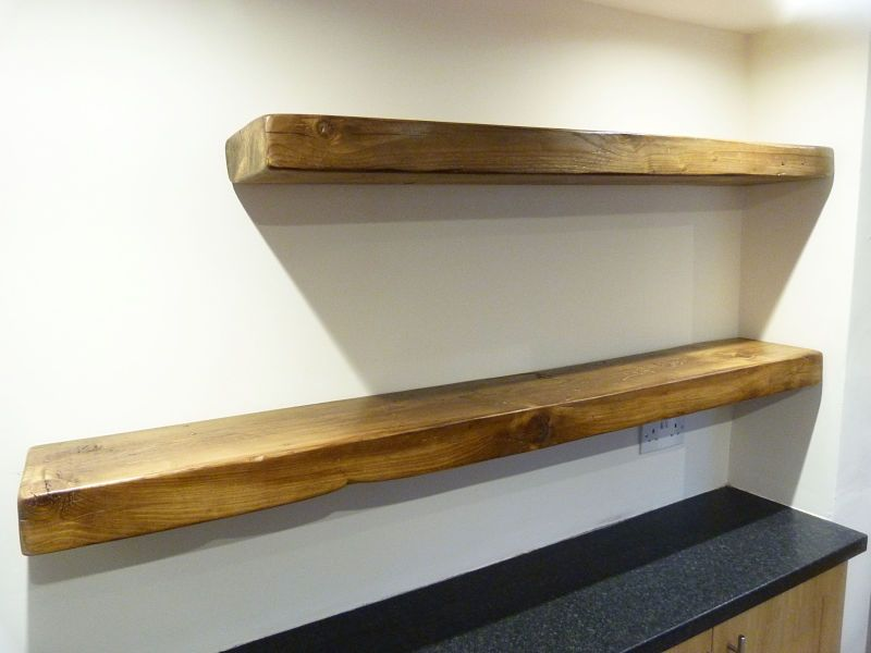 Details About Rustic Pine Shelves Chunky Floating Shelf Timber Uk Made Floating Shelves Wood Floating Shelves Long Floating Shelves