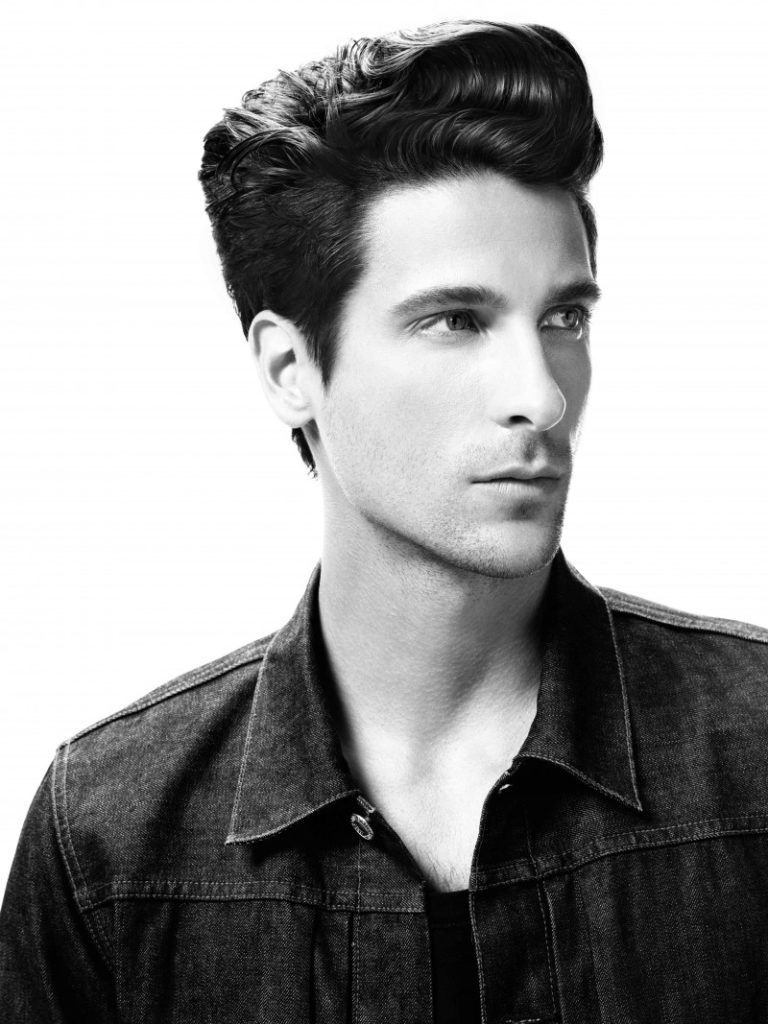 pin on ::dope pompadour hairstyles::