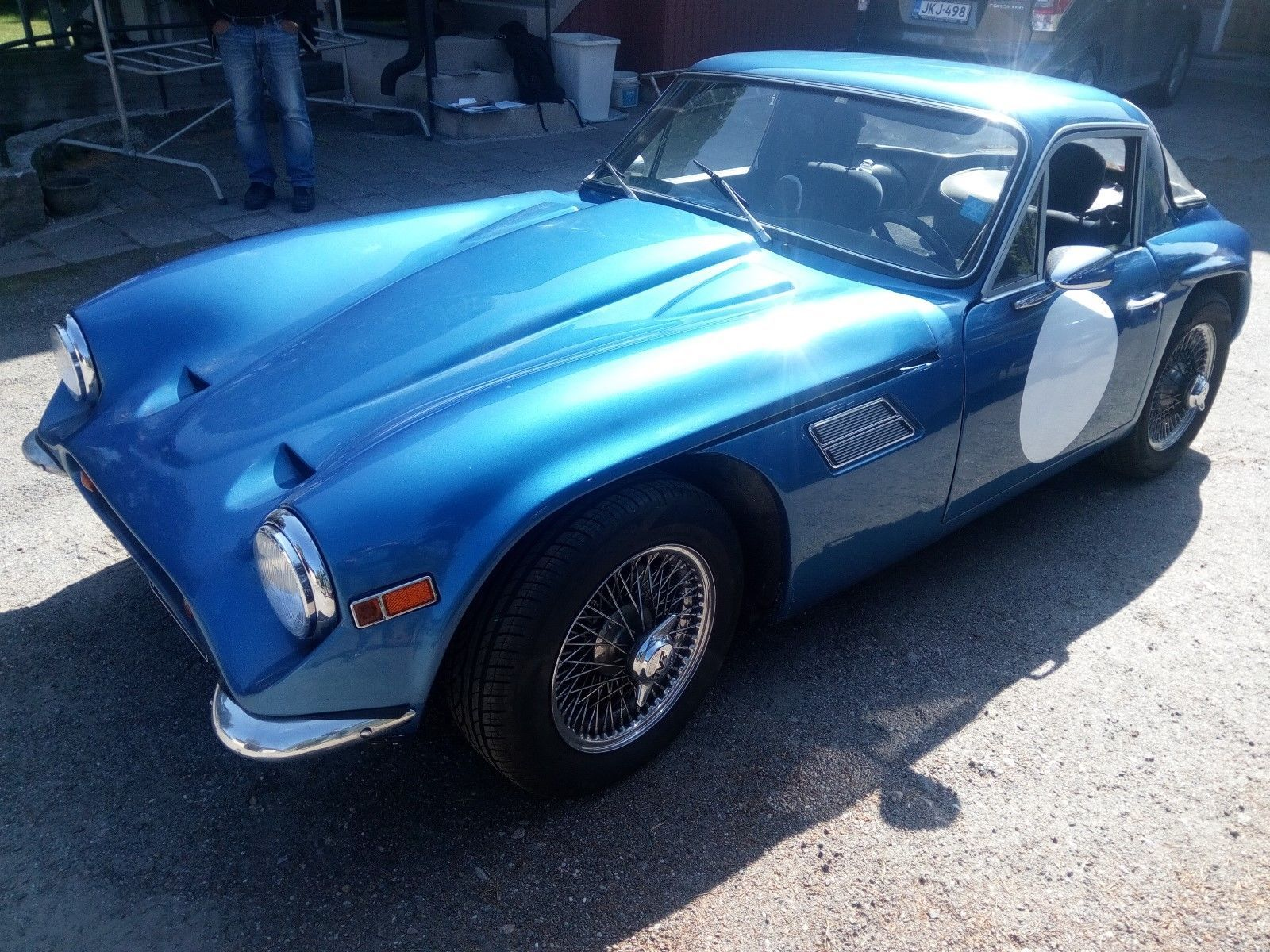 eBay: TVR Tuscan V8 1971 – Chassis No 2019/6 - British National Hill ...