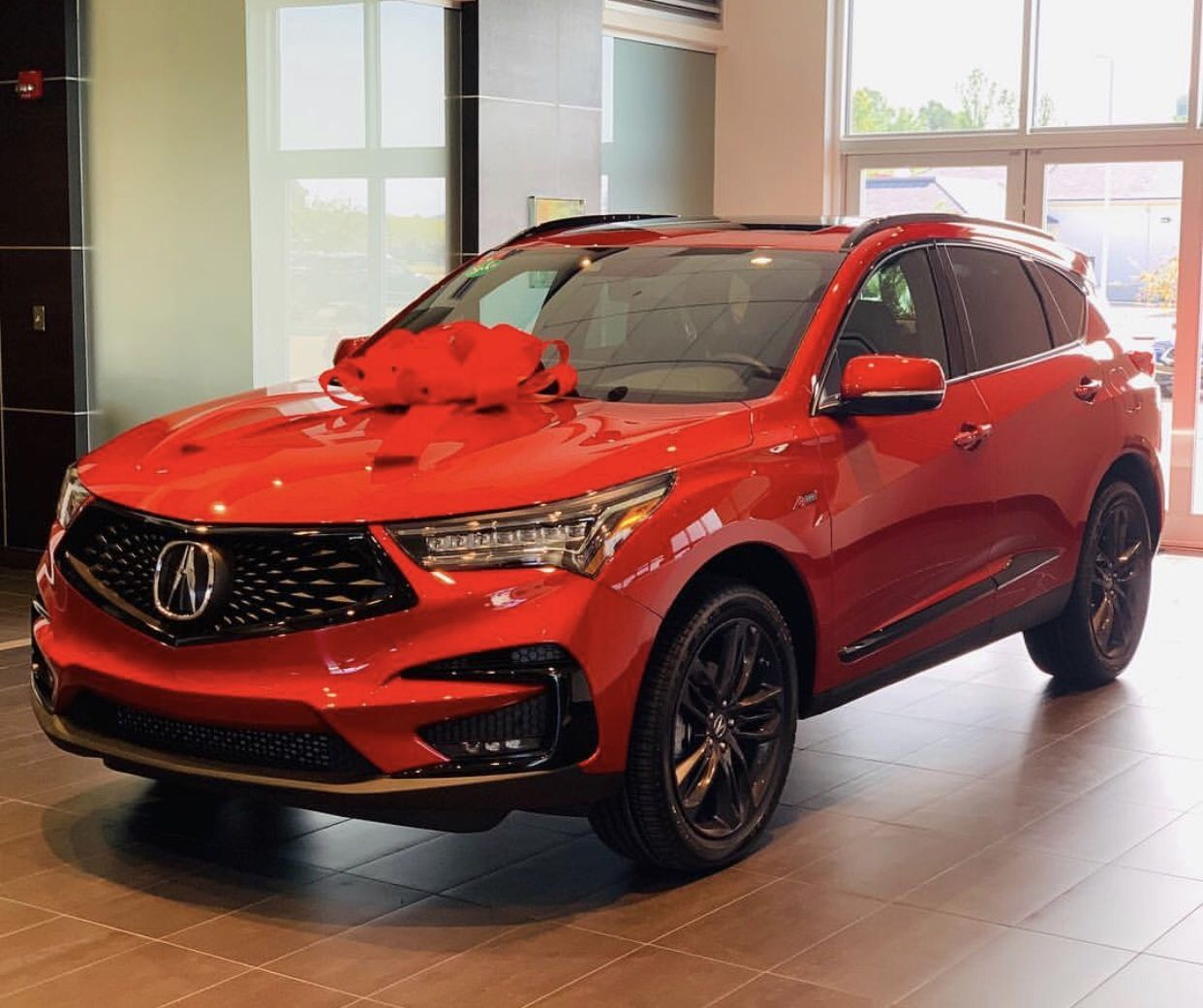 2019 Acura RDX Sport In Red ️
