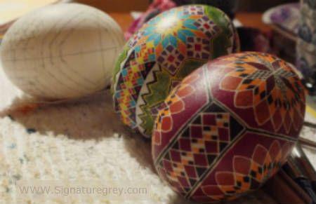 Duck eggs by Cyn smith