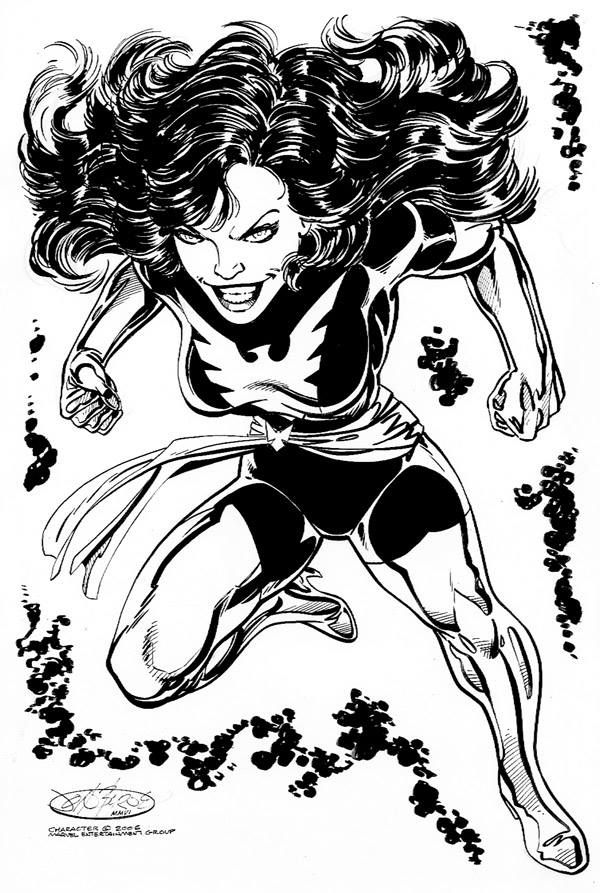 Jean Grey - Dark Phoenix by John Byrne *