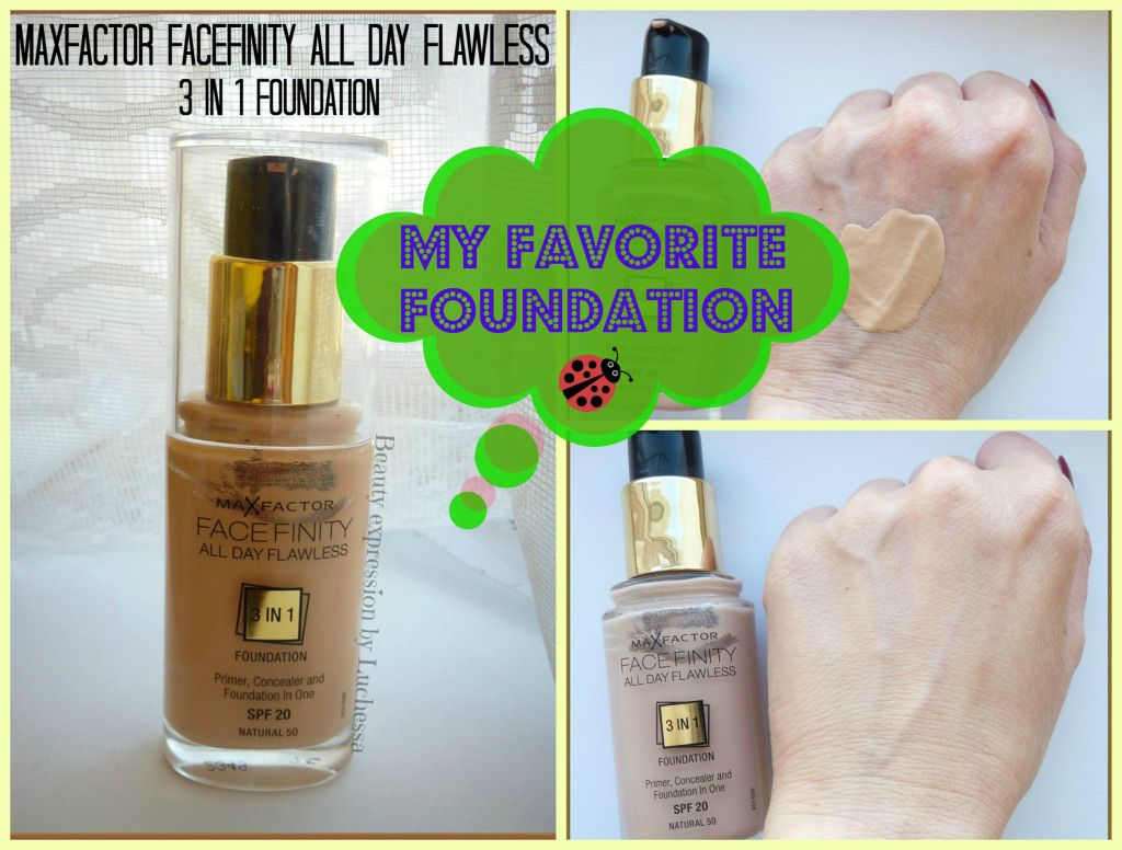 Max Factor Facefinity All Day Flawless 3-in-1 Foundation {Review ...