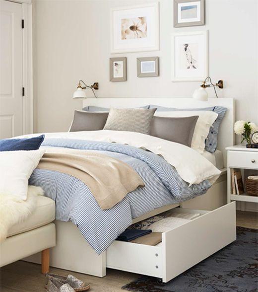 Www Kitchenredesi Malm Bed Frame With Storage Large 2 Places Bedframe Bedframeboho Bedframediy Bedframemetal Malm Bed Frame Malm Bed Ikea Malm Bed