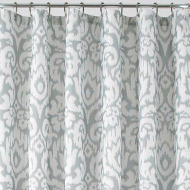 Jasmine Royal Velvet Shower Curtain 17 JCP