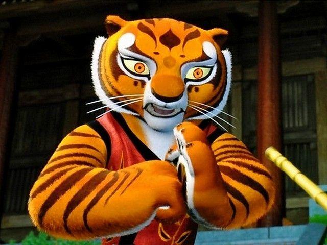 kung fu panda master tigress bowing to the trainer puzzles gameseu