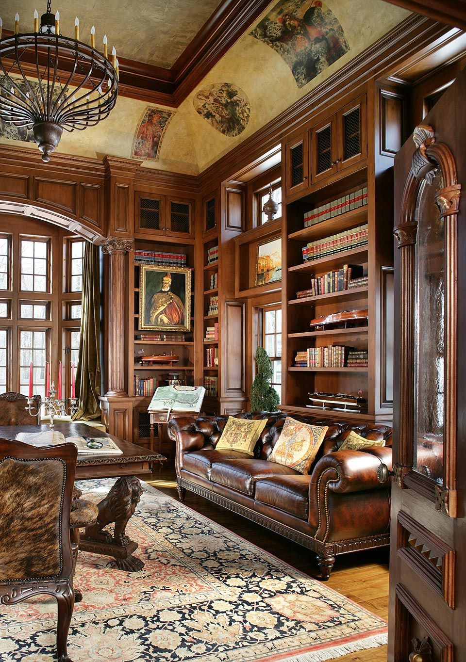 Library Study Room Ideas: Home Library Rooms, Home Office