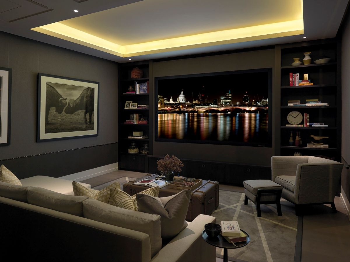 Luxury interior lighting guide home theatre and bar - Interior lighting design guidelines ...