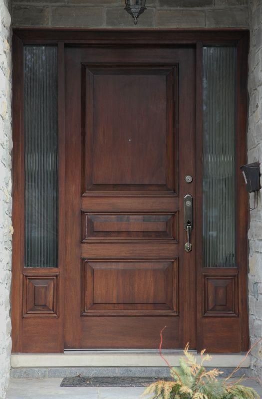 Solid Wood Front Door Windows And Doors In 2019 Pinterest Wood