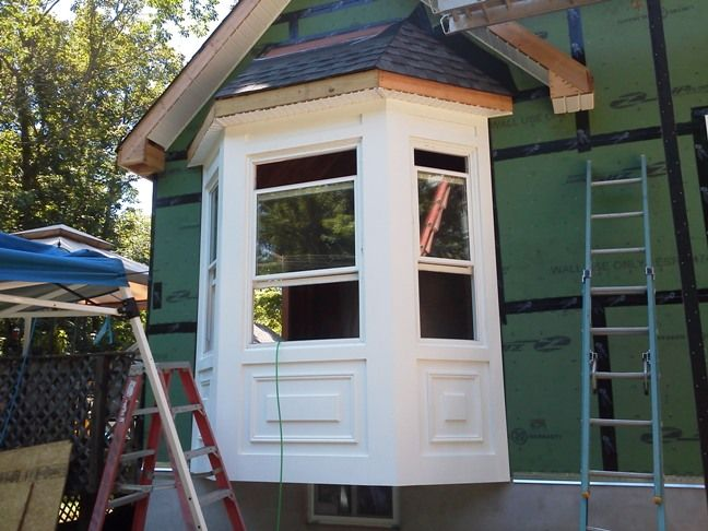 Constructing Bay Windows Walk Out Gets All