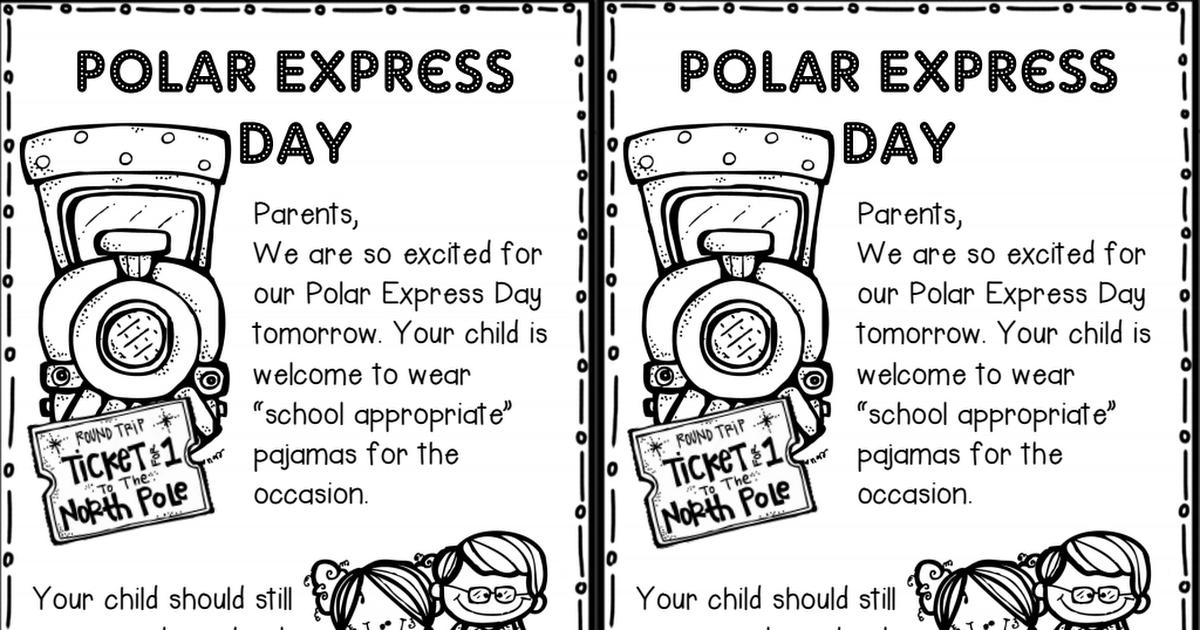 Polar Express Day Note FREEBIE.pdf Polar express
