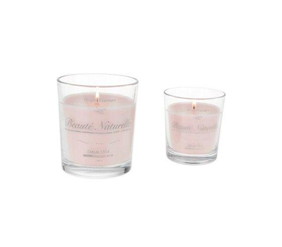 Stilvolle Kerze im Glas - in diversen hübschen Designs erhältlich