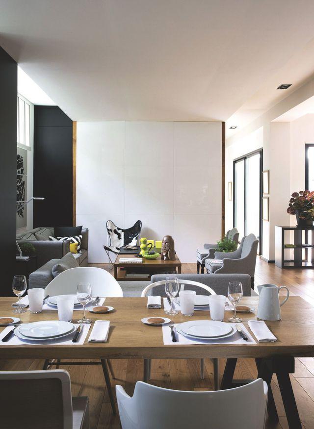 Maison loft à Malakoff  200 m2 avec patio à découvrir Salons