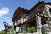Town home development with timber accent