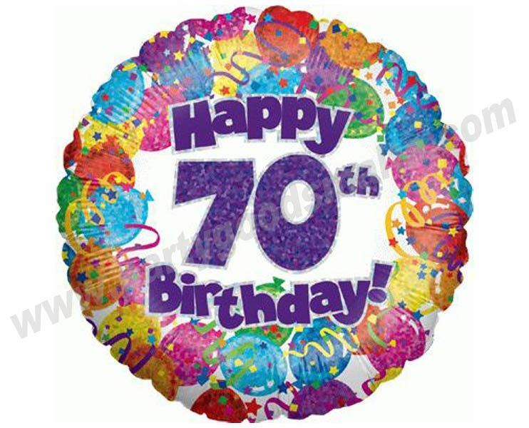 Free 70th Birthday Clip Art