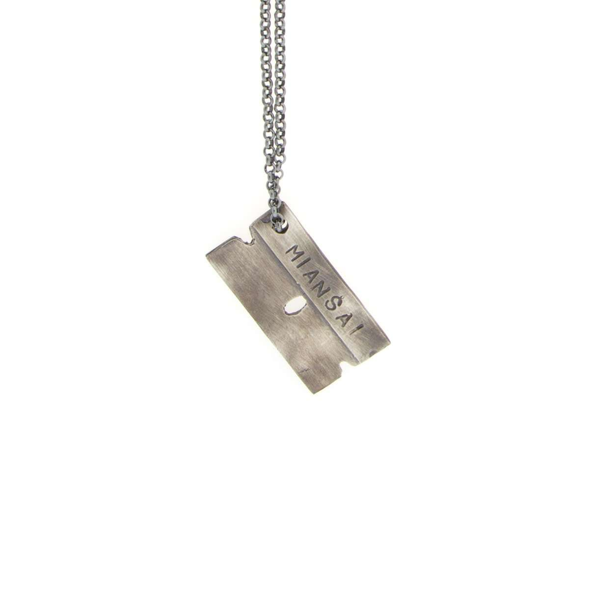 Sterling silver razor blade necklace necklaces pinterest sterling silver razor blade necklace thecheapjerseys Choice Image
