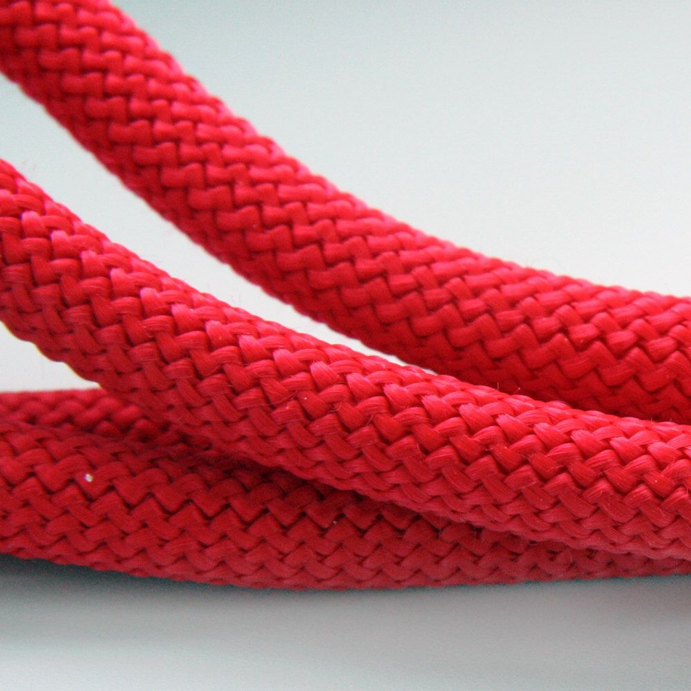 10mm Red Braided Cord Nautical Paracord Braided Rope Cord Thick