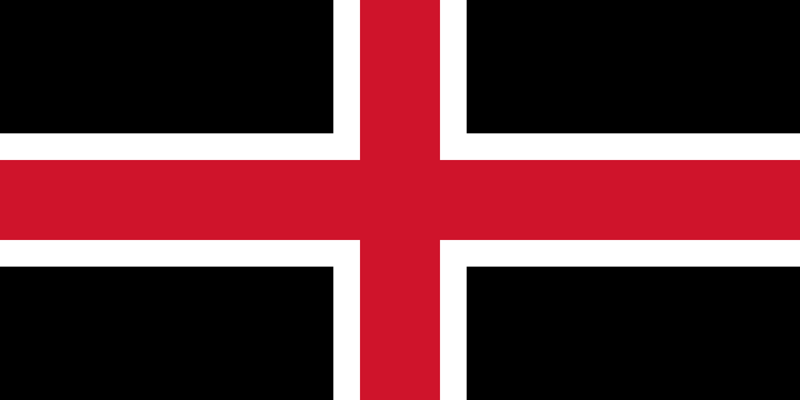 Flag Of The City Of Durham Charter Trustees County Durham England