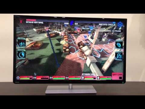 Rivals At War On Toshiba L4300 Toshiba War Big Screen