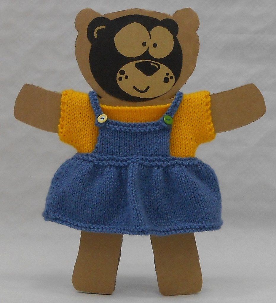 Teddy Bear knitting kit with easy to follow knitting pattern for ...