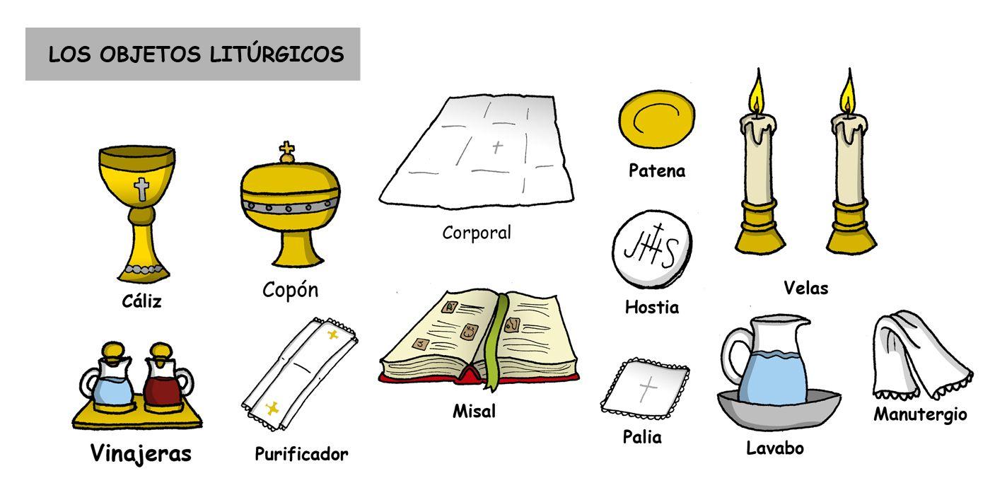 Los Objetos Liturgicos Catholic Catechism Catholic Homeschool Catechism