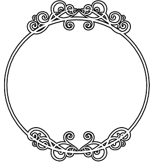 round circle border frame - free vector borders to ...