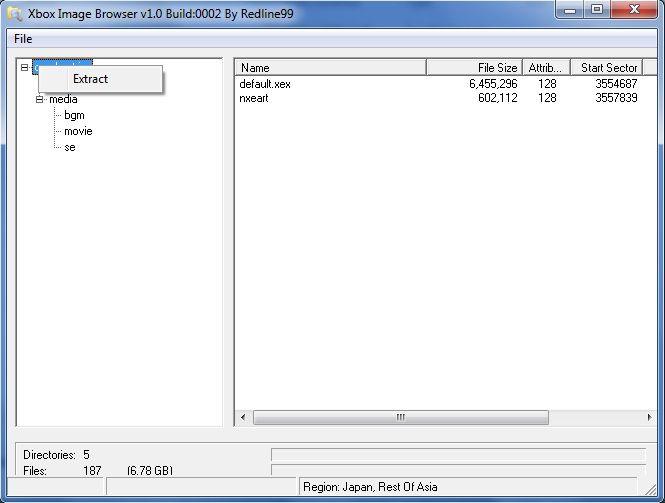 Скачать программу xbox image browser