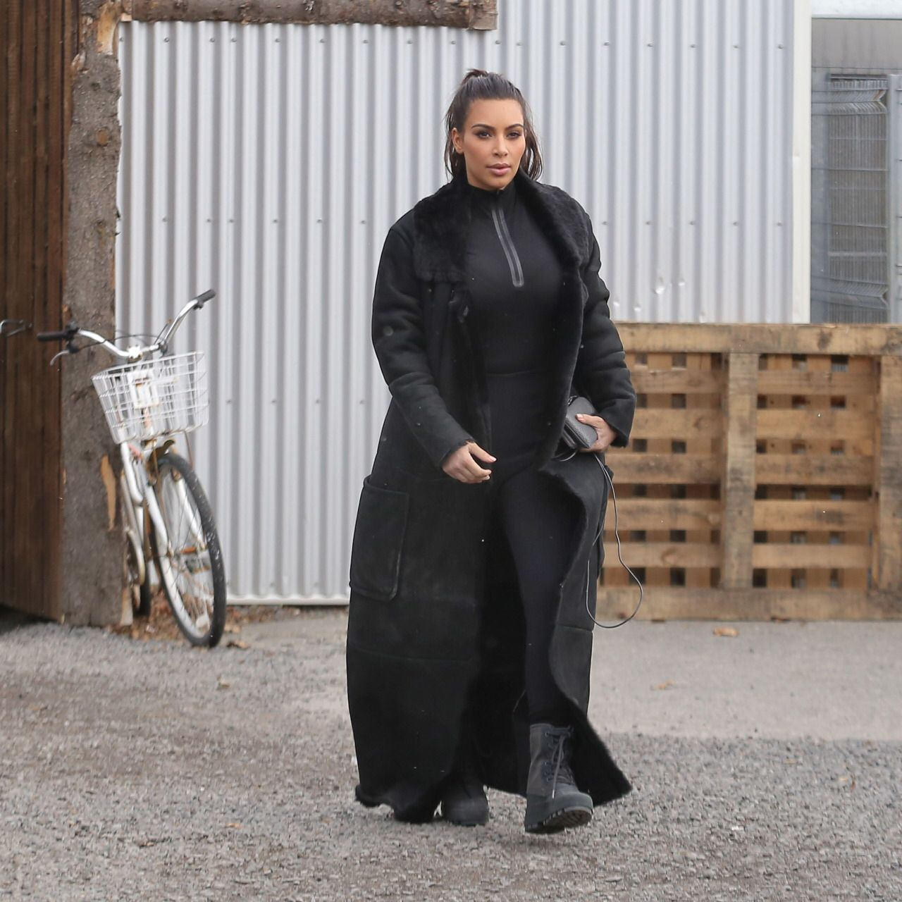 Kim Kardashian in Iceland