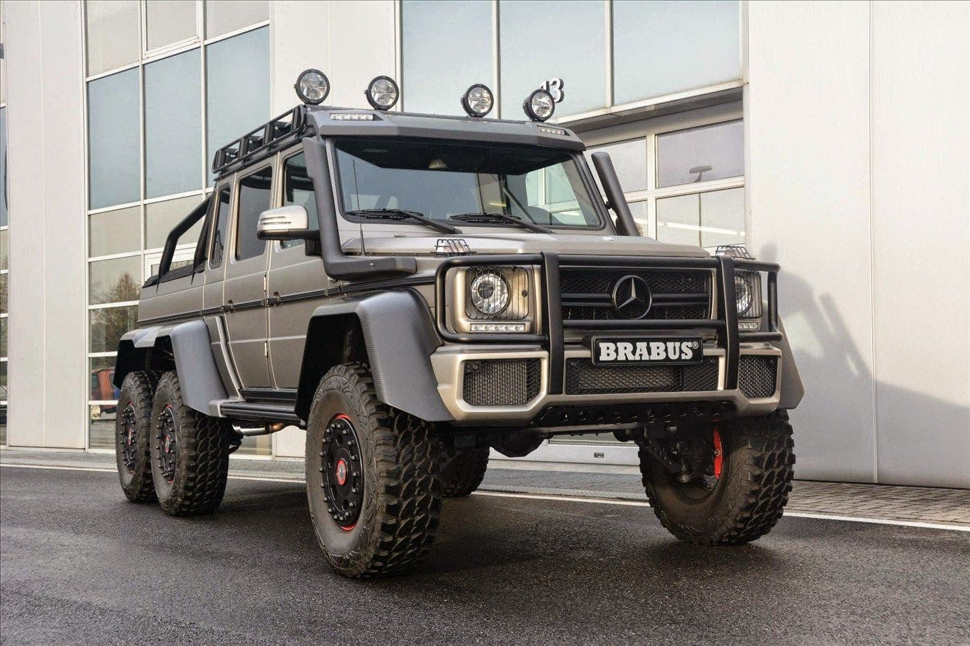 Mercedes Benz G63 Amg Brabus 6x6 With Images Mercedes G63