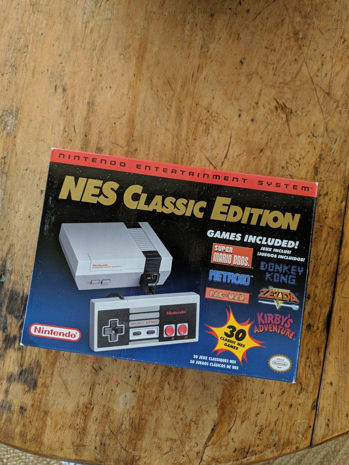 Nintendo Mini Nes Classic Edition Console