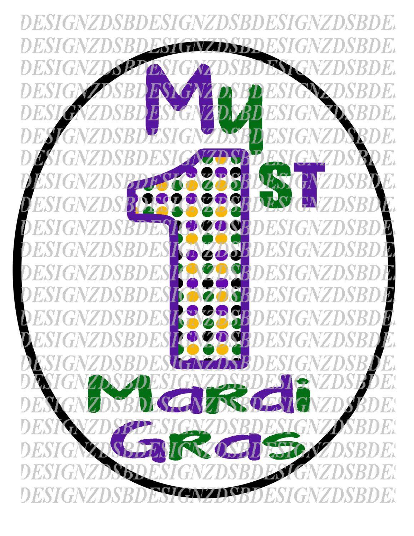 My First Mard Gras Mardi Gras Printable Mardi Gras Diy
