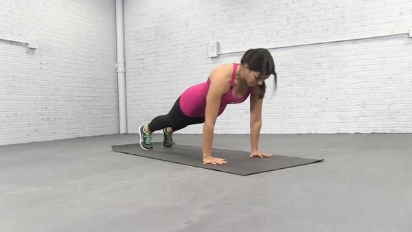 Tap Crossover Plank Exercise Aol Com Plank Workout Ball Exercises Get Fit