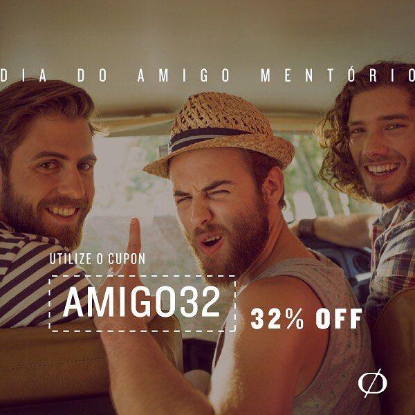 Os 5 primeiros que utilizarem o código AMIGO32 ganham 32% DE DESCONTO em nossos produtos. Indique aqui um amigo que precisa cuidar da barba.