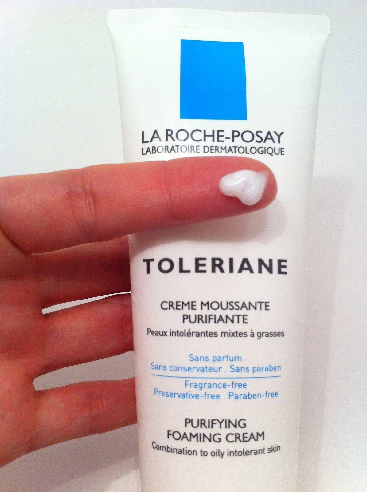 Review La Roche Posay Purifying Foaming Cream Cream Cleanser Best Acne Cleanser La Roche Posay