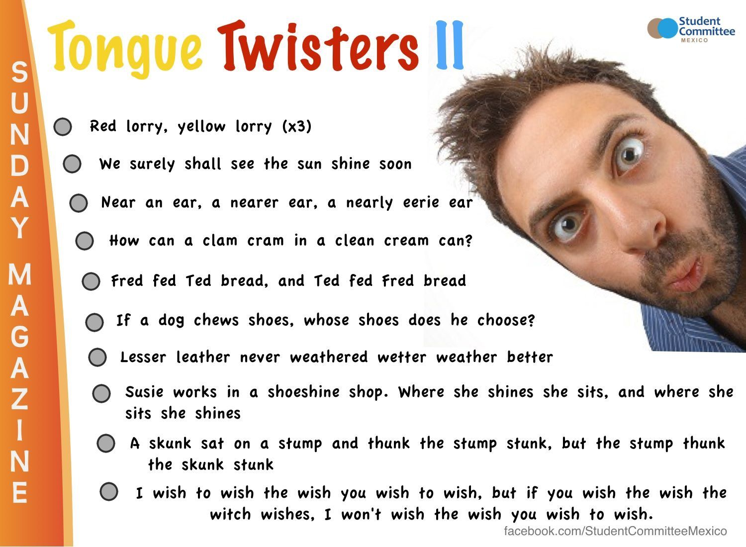 Pin by Shovlsss on English Tongue twisters for kids