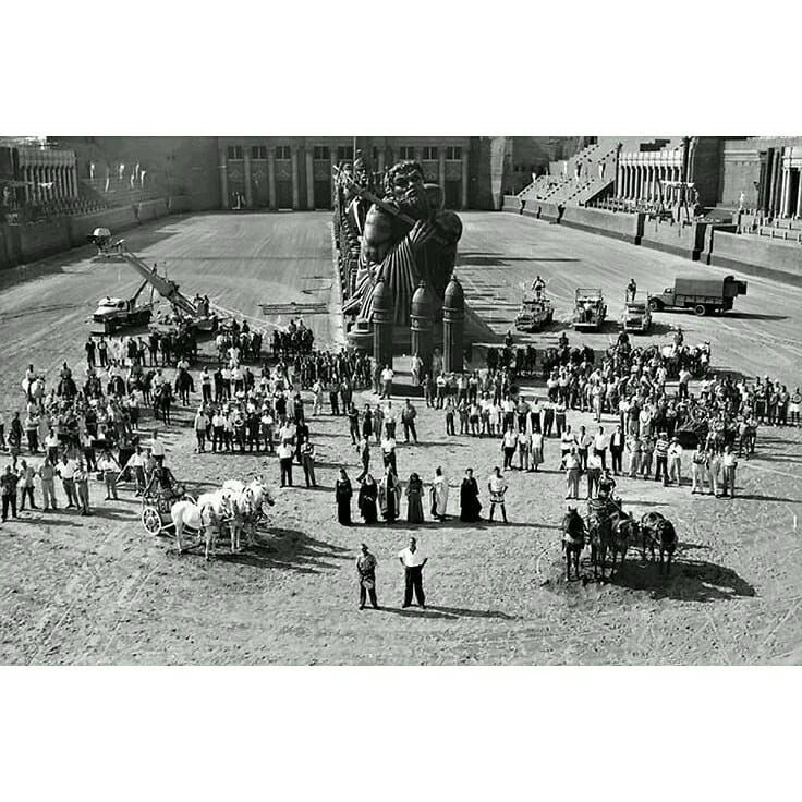 "� Sequence Shot on Instagram: ""On the set of Ben-Hur (William Wyler, 1959). Note: the second aerial photography is of Ben-Hur (Fred Niblo, 1925) starring Ramon…"""