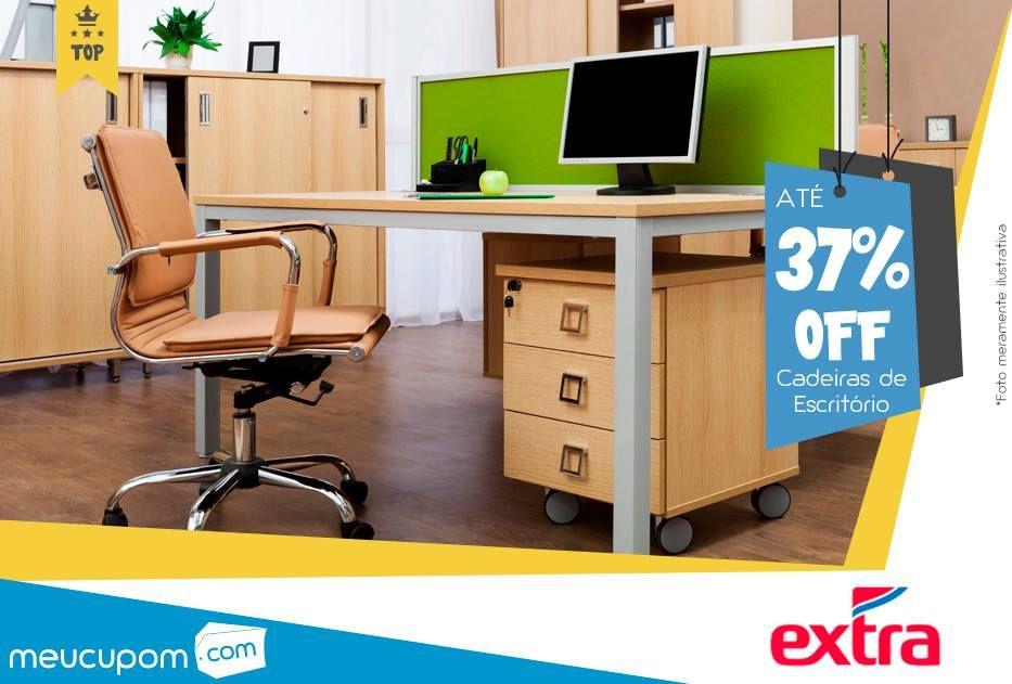 Encontramos uma oferta com até 37% OFF em Cadeiras de Escritório no #Extra. Clique e confira: http://goo.gl/yKGJlZ  *Válido até 11/09/2015