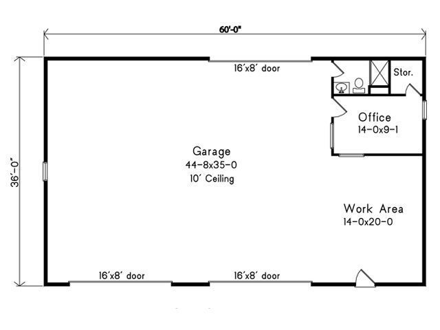 Plan 2717 Just Garage Plans Outdoor Garden – Just Garage Plans