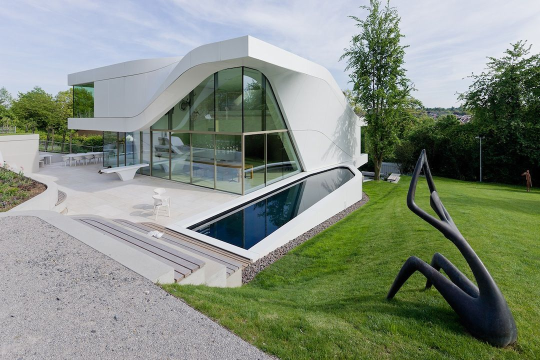 Haus Am Weinberg Ignant Modern Suburban House Unique Houses Unique House Design