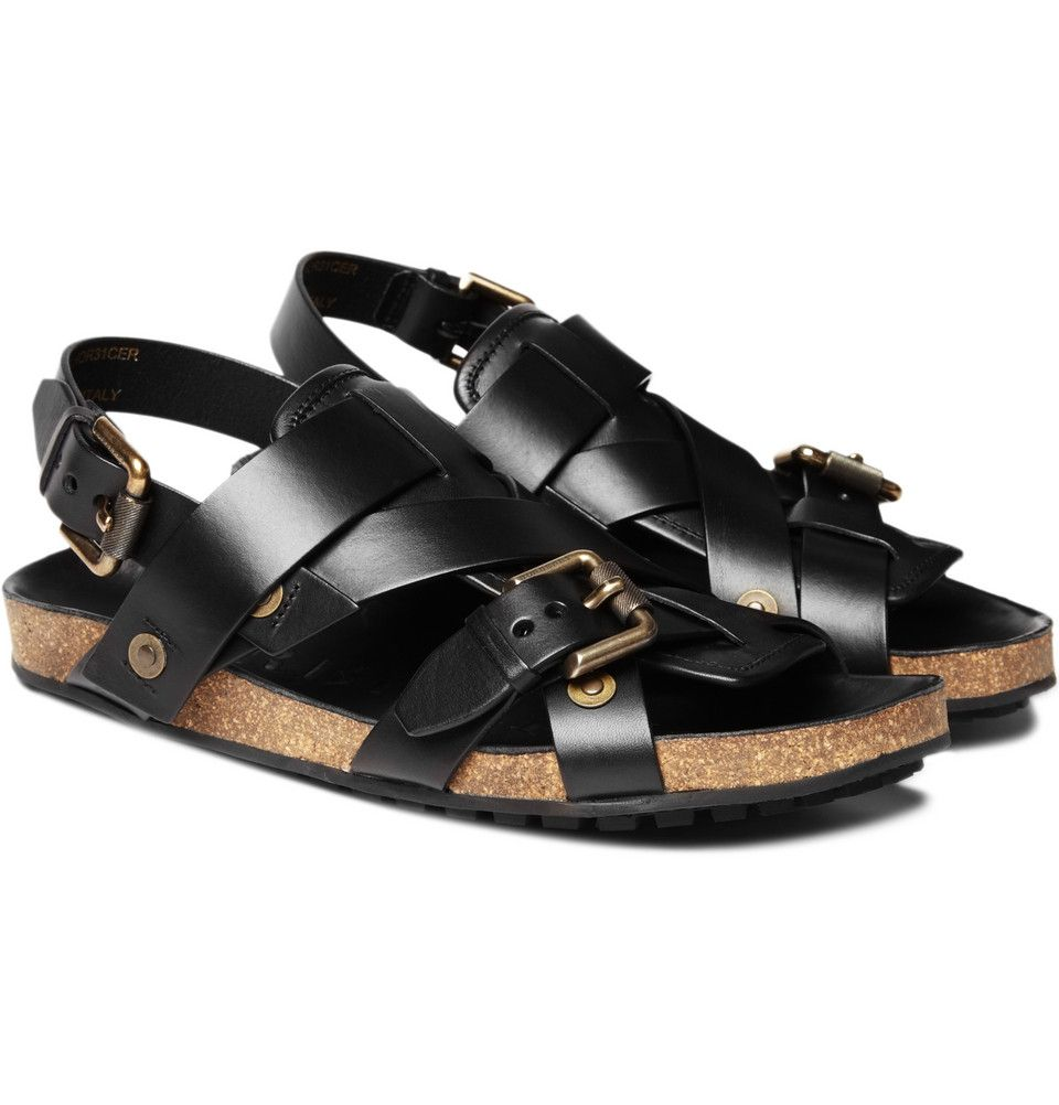 2f60131e2 Burberry Prorsum Sandals  For men. With gold metal rivets and a thick cork  sole.  Sandals  Men  Burberry