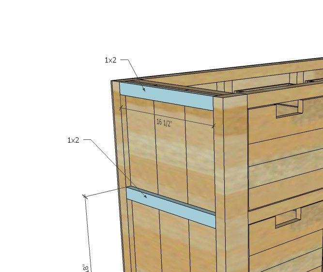 Best Dumpster Dresser From 2X4S Woodworking Furniture Wooden 400 x 300