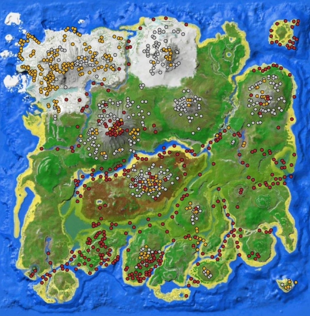 Ark The Island Resource Map Ark Survival Evolved Bases Ark Survival Evolved Ark Created using ionic framework and ark's typescript api to interact with the ark network via your mobile phone, anytime, anywhere (as long as you have an internet. ark the island resource map ark
