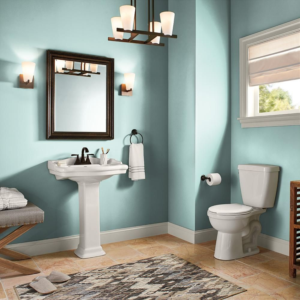 Pin By Melissa Hall On Bathroom In 2020 Painting Bathroom Interior Paint Behr Marquee Paint