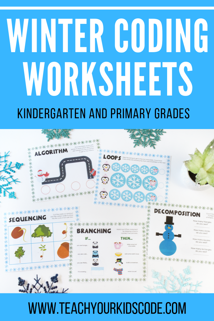 Themed Coding Worksheets For Kindergarten And Primary Students Teach Your Kids Code Unplugged Coding Activities Coding For Kids Kindergarten [ 1102 x 735 Pixel ]