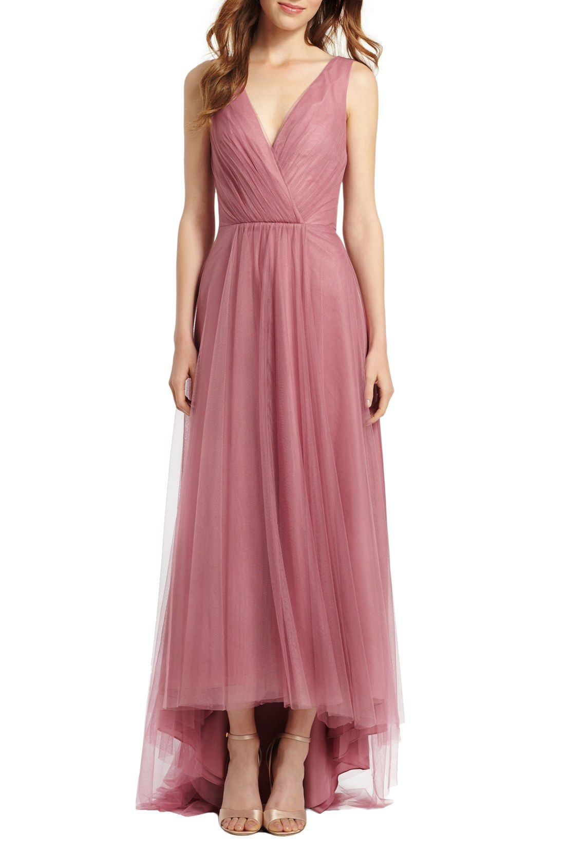 i like this rose color - maybe too bridesmaids-y | Monique Lhuillier ...