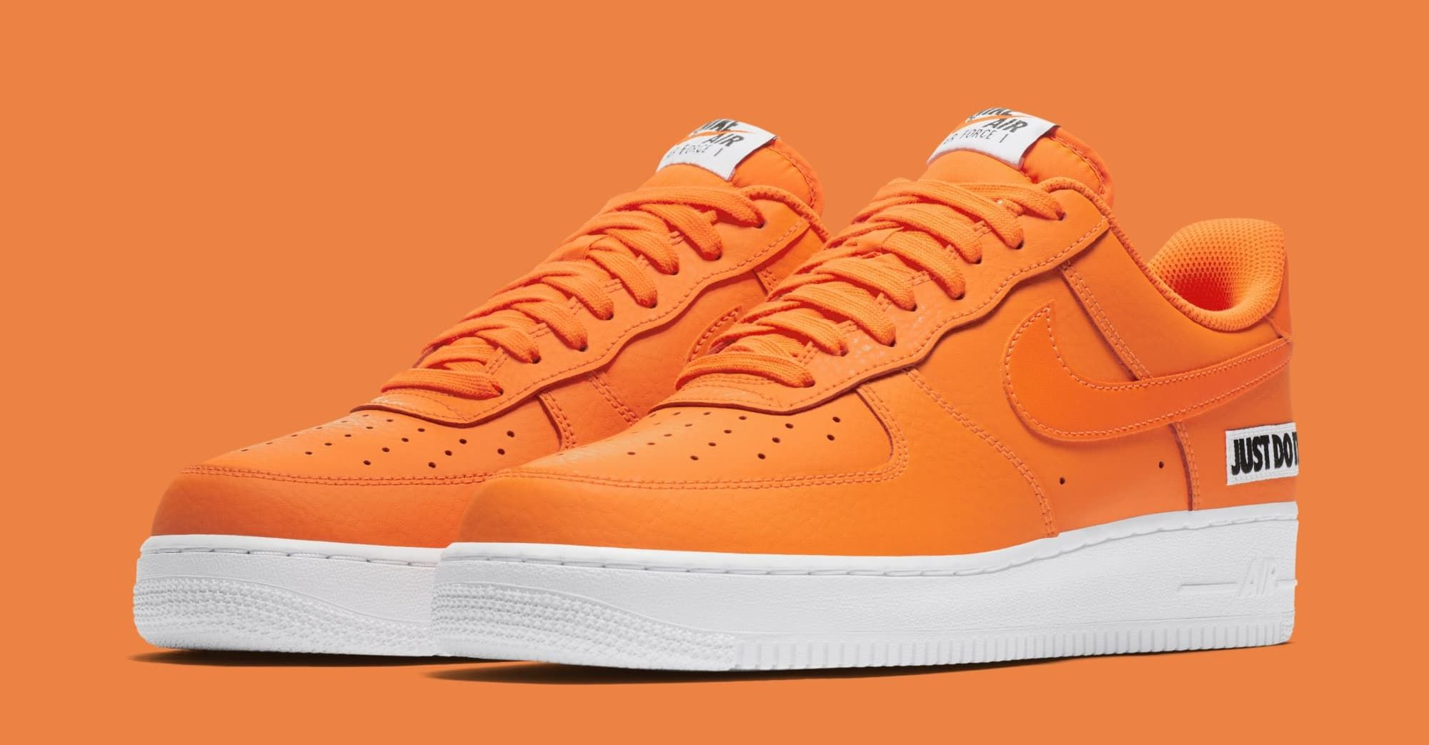 846e3314929a6 Nike Air Force 1 Low  Just Do It  BQ5360-800 (Pair)