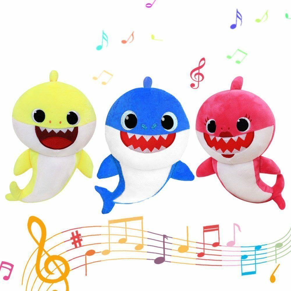 Baby Shark Plush Singing Plush Toys Music Doll English Song