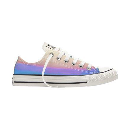 zapatillas casual de mujer chuck taylor all star iridescent converse