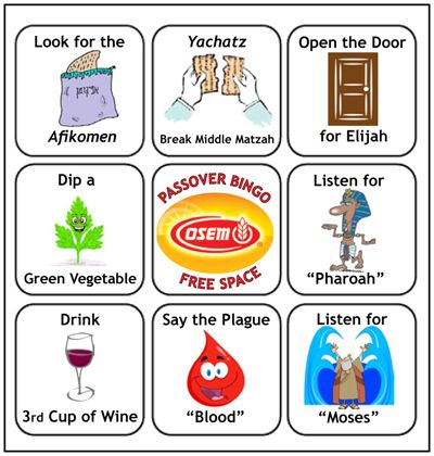 photograph about Children's Passover Seder Printable titled Obtain Pover Bingo playing cards No cost towards